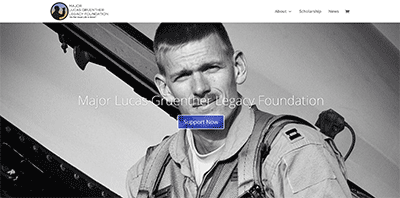 The Lucas Gruenther website is getting a makeover