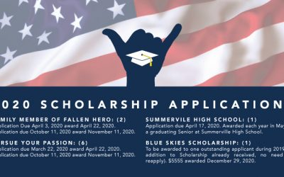 NEW 2020 Scholarship Application Schedule